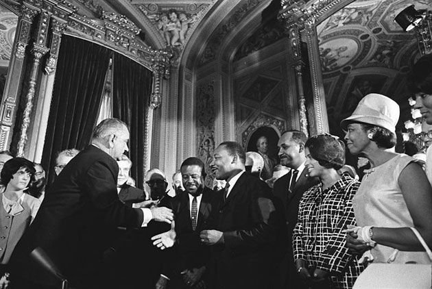 The Supreme Court hears the Voting Rights Act