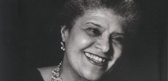 Eslanda Robeson, wife of Paul Robeson