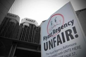 Labor Update: Baltimore's Hyatt Regency Hotel