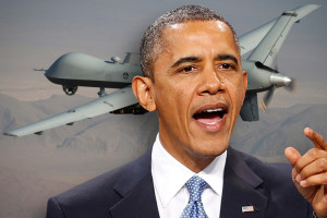 President Obama and drones