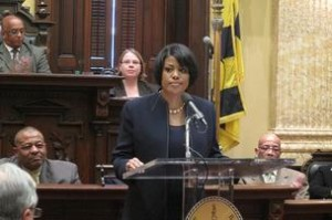 State of the City, Baltimore Mayor Stephanie Rawlings-Blake