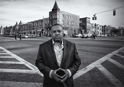 Baltimore Blues: Harm City by Marshall C. Bell