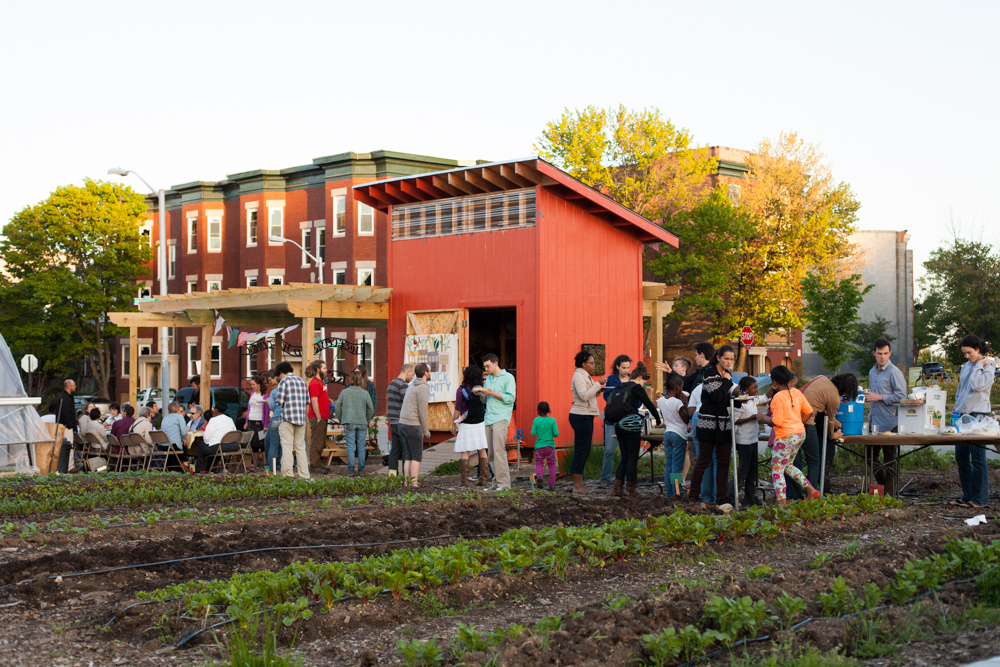 Whitelock Community Farm in Reservoir Hill