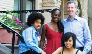 Bill de Blasio Family