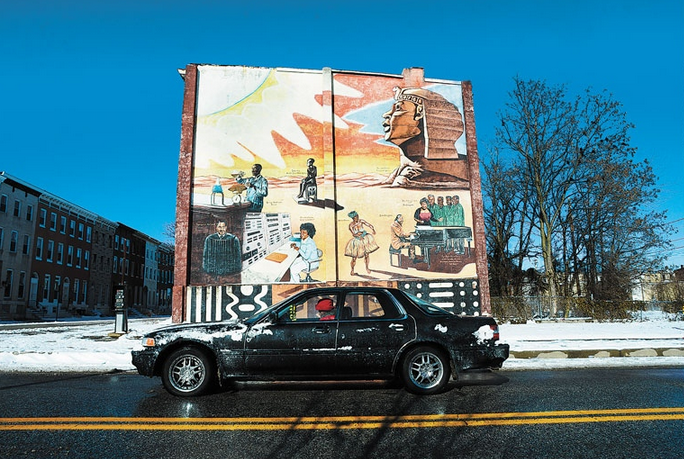 THESE WALLS CAN TALK Looking back at Baltimore's long history of street murals