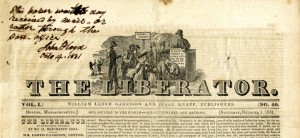 The Liberator, abolitionist newspaper