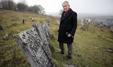 Simon Schama in the BBC series The Story of the Jews.