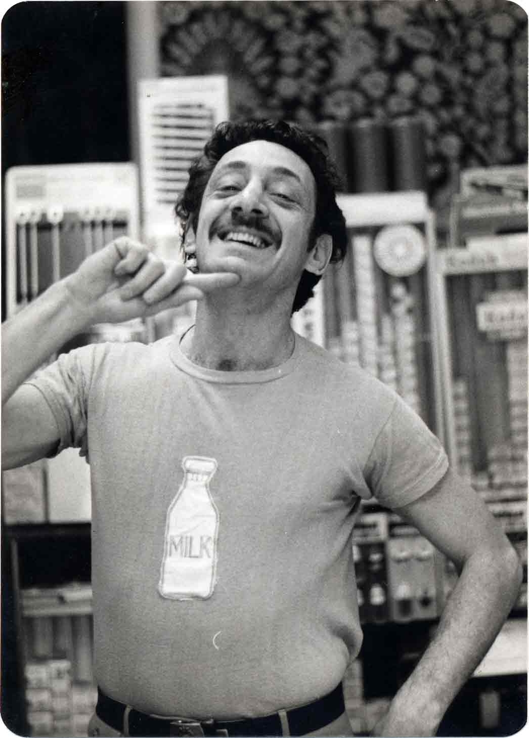 harvey milk with milk