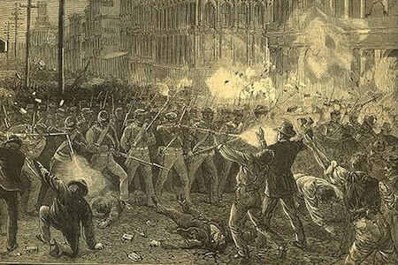 1877 Railroad Strike Baltimore
