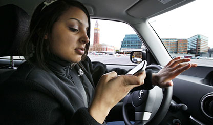 Text Distracted Driving