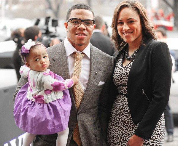 Ray Rice and family