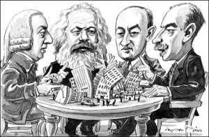 Smith, Marx, Schumpeter and Keynes