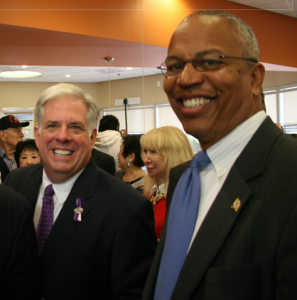 Larry Hogan and Boyd Rutherford
