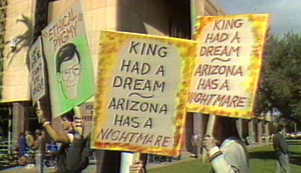 Arizona's refusal to observe a Dr. Martin Luther King Jr