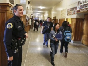 Maryland bill to put police officers in schools