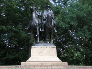 Lee Jackson Statue in Baltimore