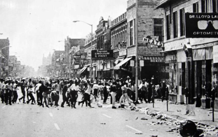 The Detroit Riots