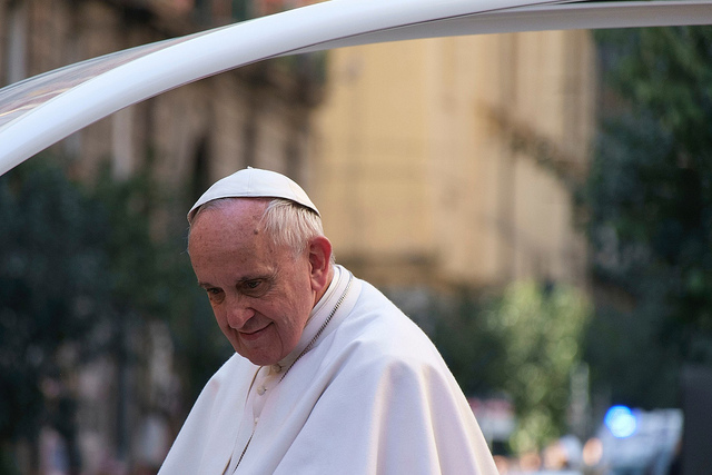 Pope Francis (Photo Credit: Raffaele Esposito on Flickr)