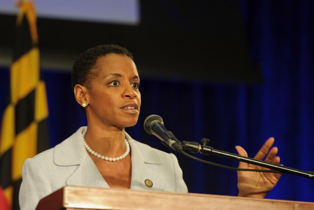 Donna Edwards (Credit: Flickr- NASA HQ Photo)