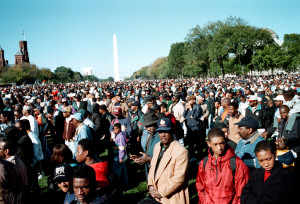Million Man March 1995 (Credit: Wikimedia - Yoke Mc / Joacim Osterstam)