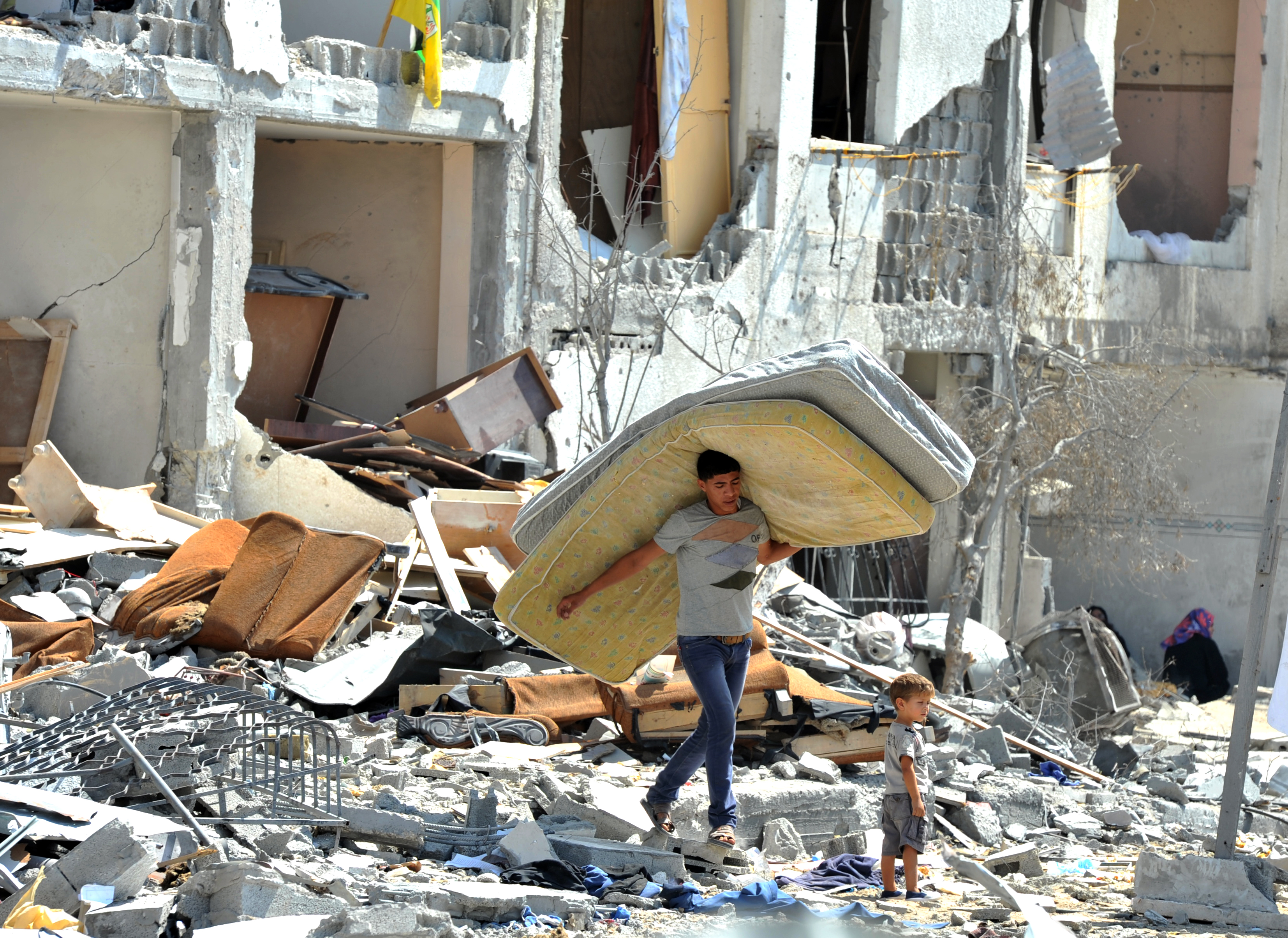 Gaza Crisis (Credit: Flickr - United Nations Photostream)
