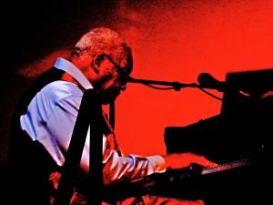 Ellis Marsalis plays out jazz at Snug Harbor http://en.wikipedia.org/wiki/Ellis_Marsalis,_Jr.