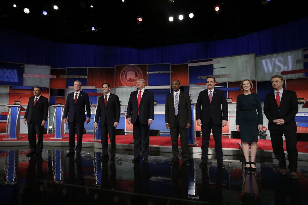 Republican Debate (Credit: USA Today)