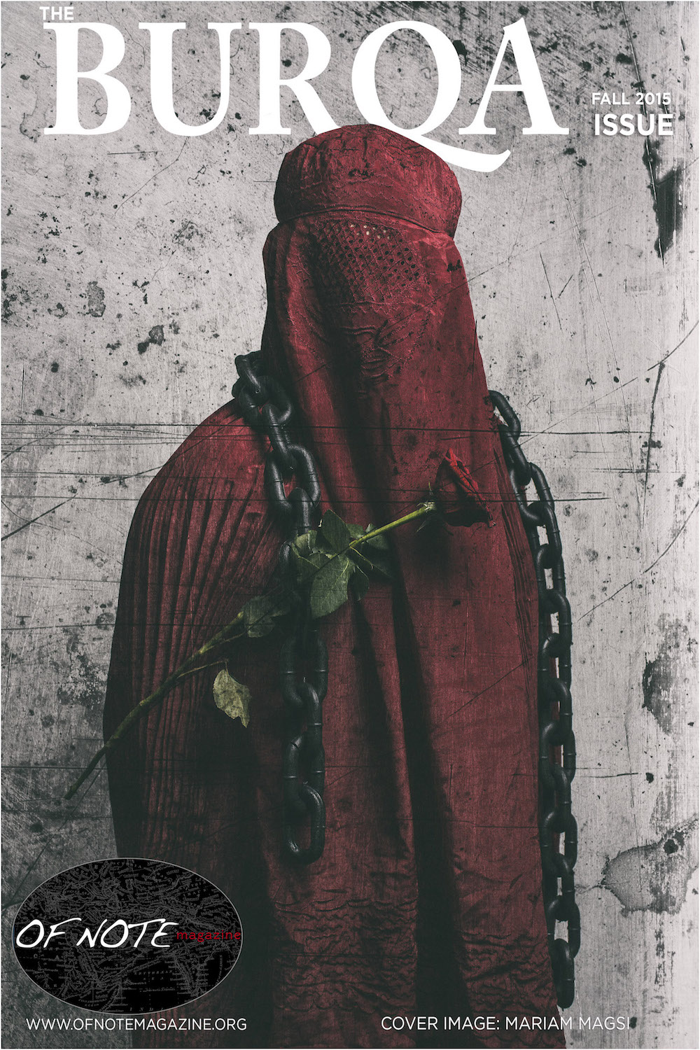 The Burqa Issue (Credit: Of Note Magazine Fall 2015)