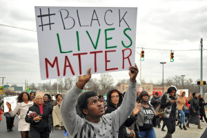 Black Lives Matter Baltimore Protest (Credit: The Baltimore Sun)