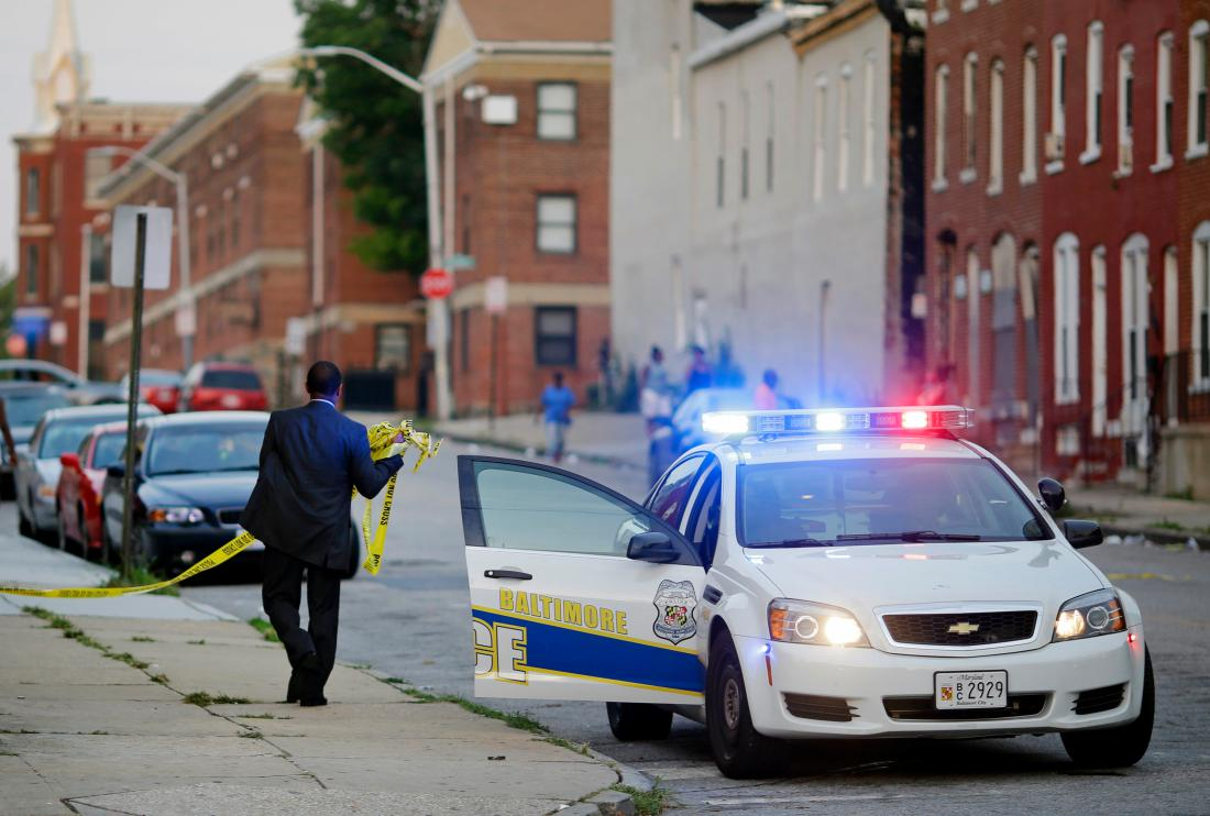 Baltimore Homicide Rate (Credit: Time)