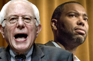 Bernie Sanders and Ta-Nehisi Coates