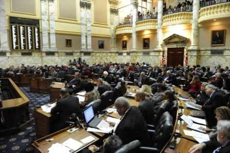 Maryland Legislature (Credit: CPHA Baltimore)