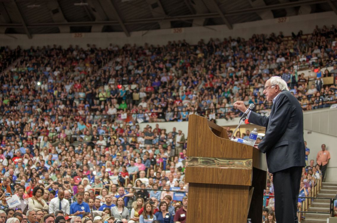 Bernie Sanders (Credit: Huffington Post)