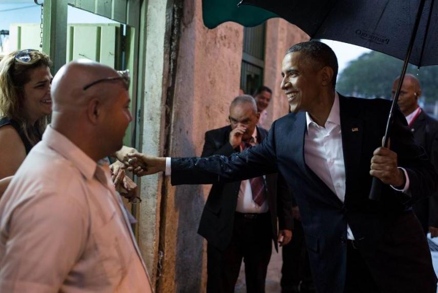 President Obama in Cuba