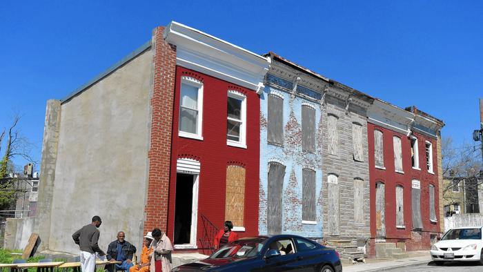 Tubman House (Credit: Baltimore Sun)