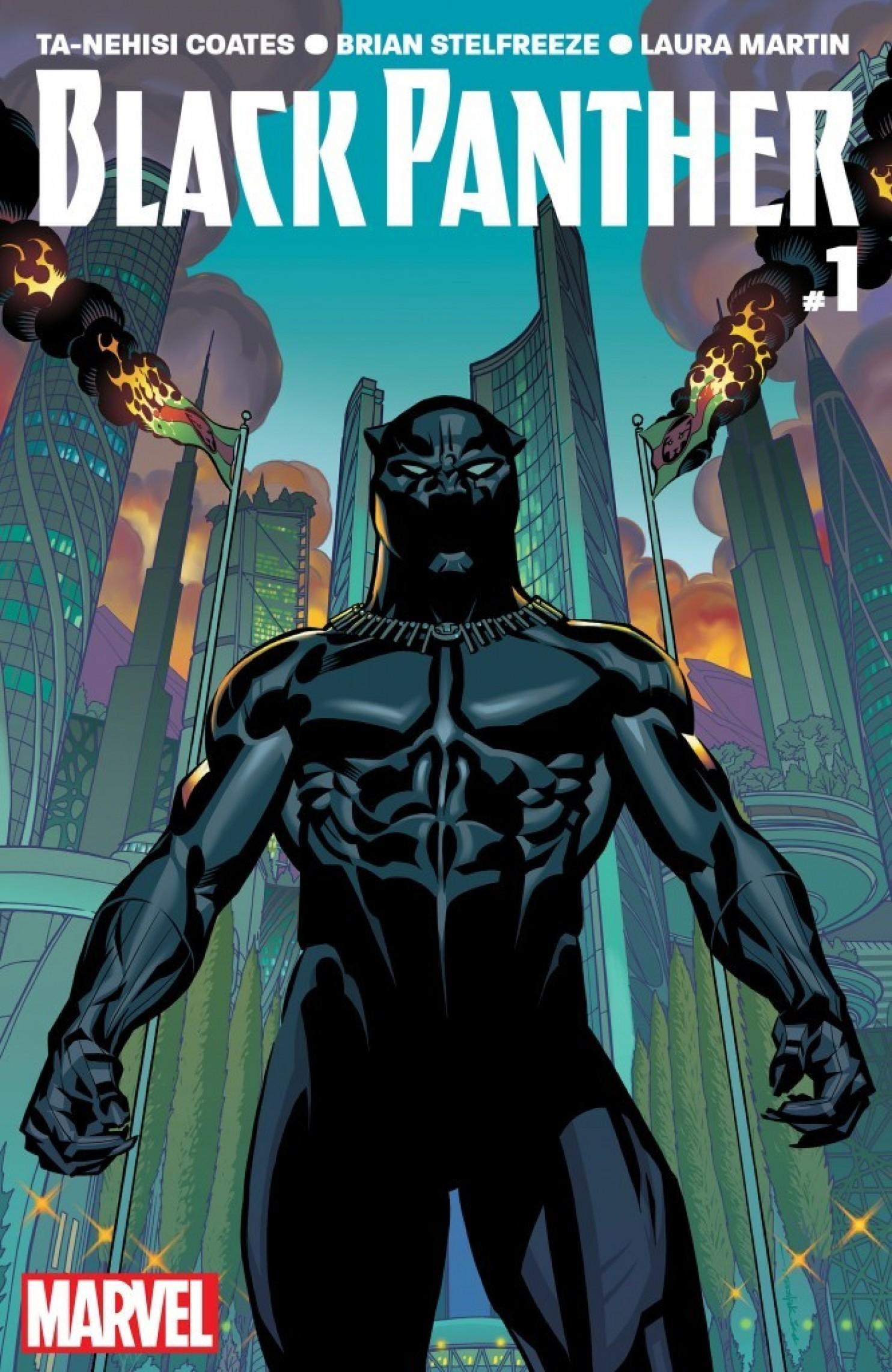 Black Panther Comic (Credit: Washington Post)
