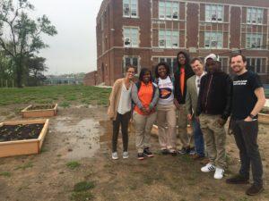 Douglass High School in Baltimore
