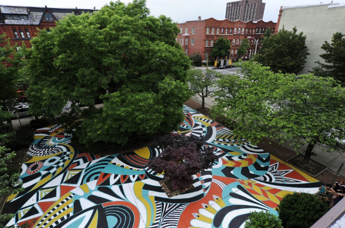 Baltimore City arts districts