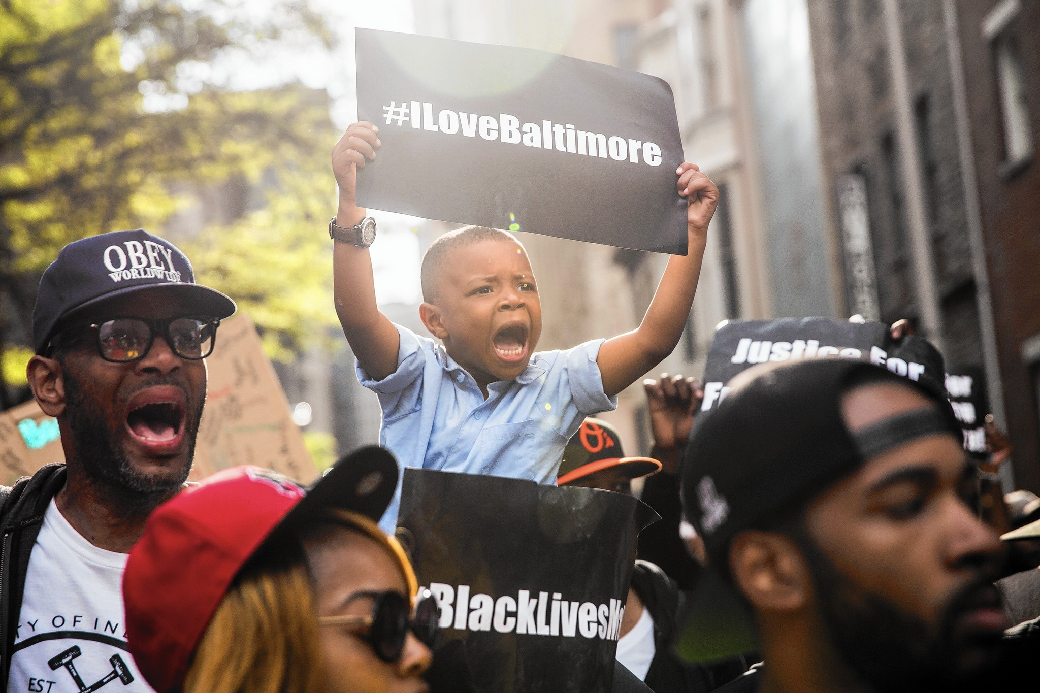 Baltimore Uprising (Credit: BaltimoreSun)