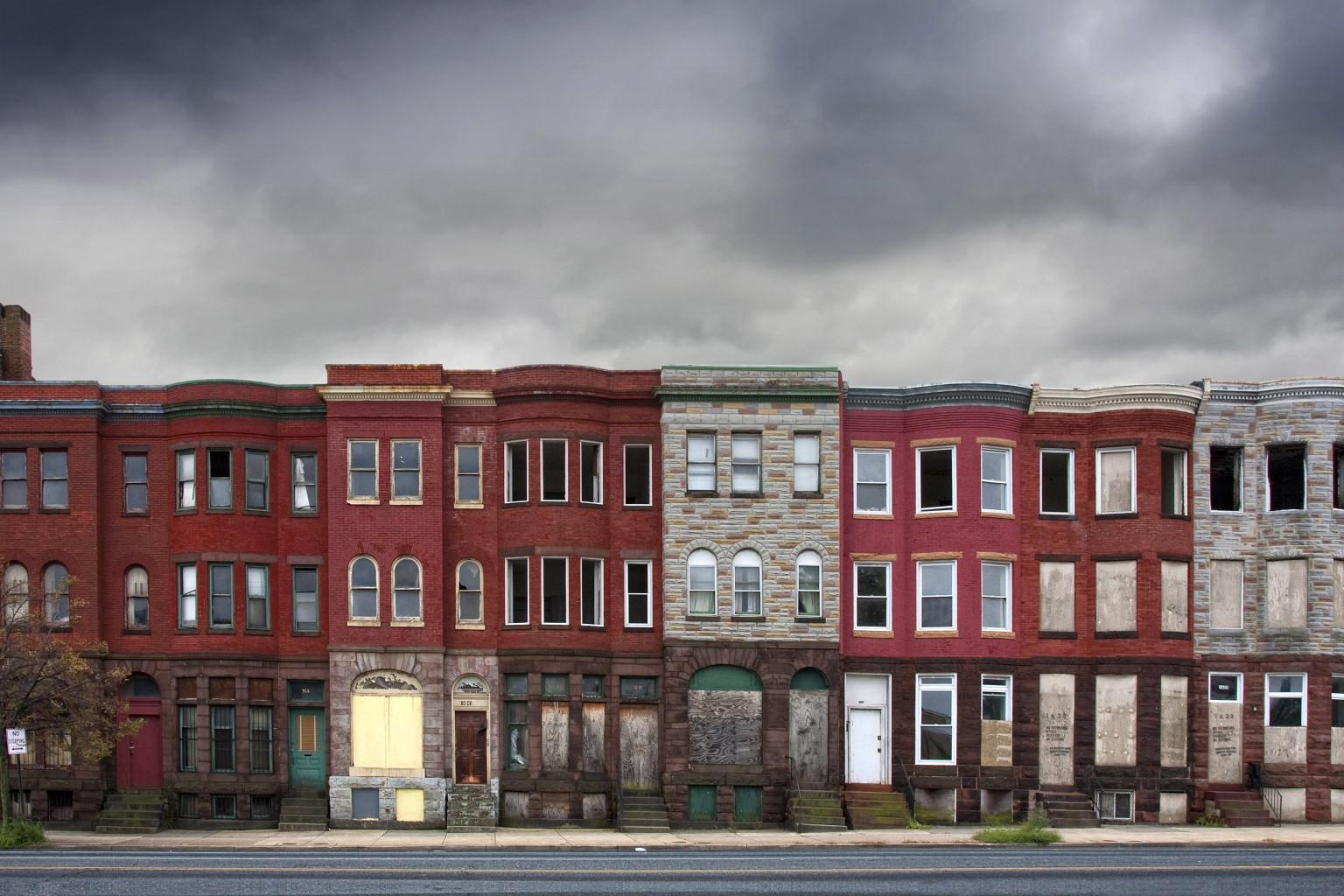 Baltimore Housing (Credit: ujreview.com)