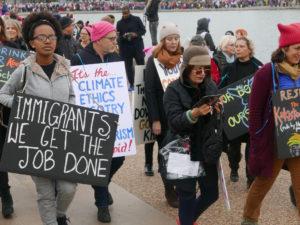 Women March (Credit: Flickr User Susan Melkisethian)