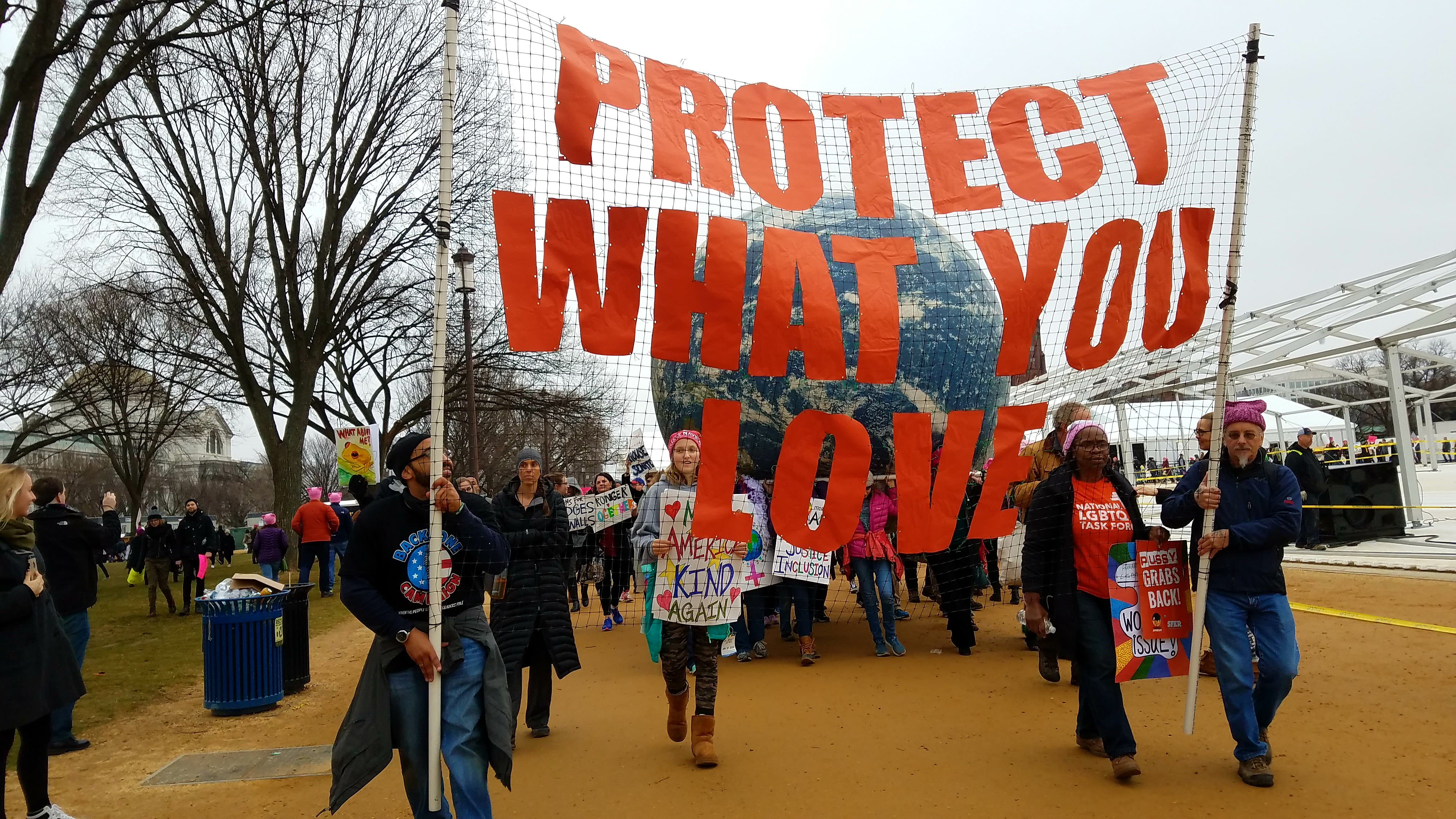 DC Protest (Credit: Flickr Commons User - Campaign Backbone)
