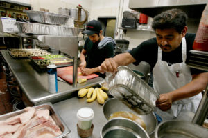 Immigration Food Prep (Credit: New York Times)