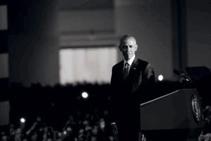 Barack Obama (Credit: Calvin Baker's Article)