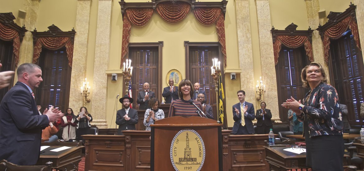 Mayor Pugh (Credit: Baltimore City Gov)