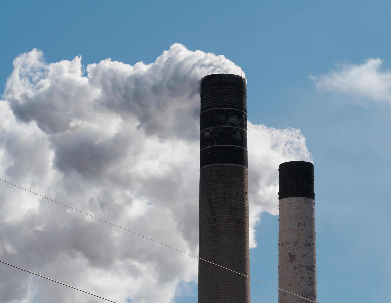 Smoke Stacks (Credit: Flickr Commons)